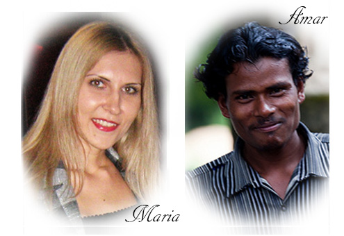 Maria and Amar
