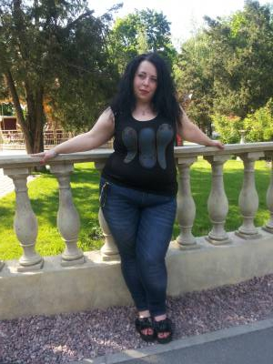 Treffen Frau Ukraine Marina 36Jahre, 165cm und 85kg